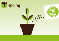 Replenish or top up with more Organic Potting Mix after each spring or when you re-plant.